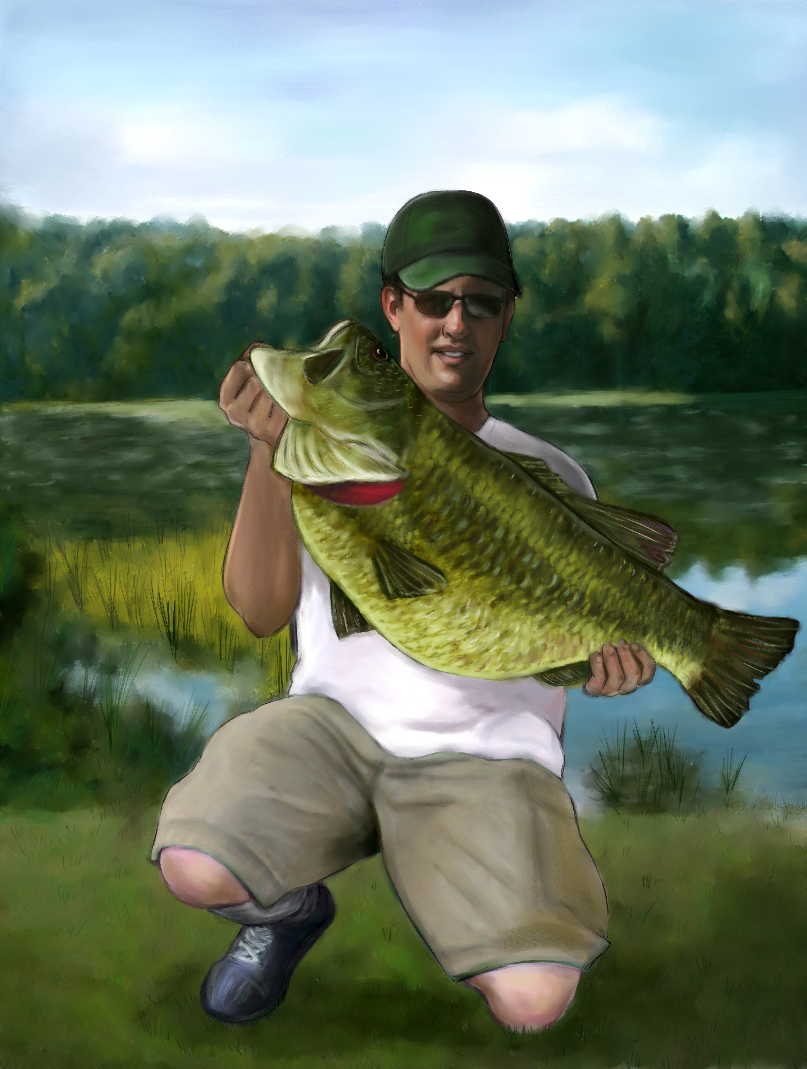 American behemouth tells of raising a world record bass for Missouri state record fish